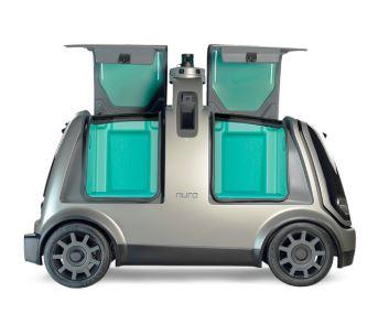 El coche sin pasajeros Nuro de pruebas en California
