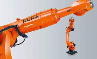 El robot KR QUANTEC que es capaz de aguantar hasta 180°C