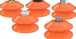 Para soluciones exigentes Piab ha ampliado su gama de ventosas de fuelle Duraflex